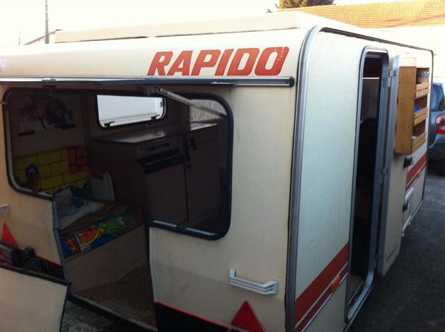 modification caravane pour transport moto. Black Bedroom Furniture Sets. Home Design Ideas