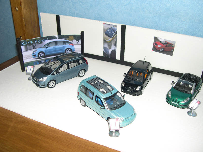 diorama concession citroen by plouf. Black Bedroom Furniture Sets. Home Design Ideas