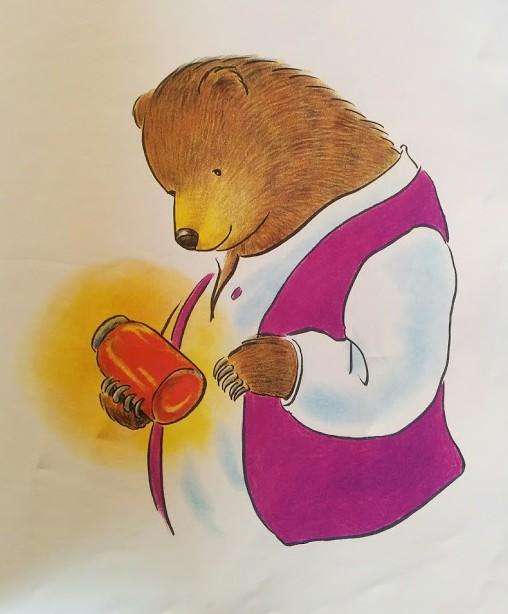 Grand ours est fâché