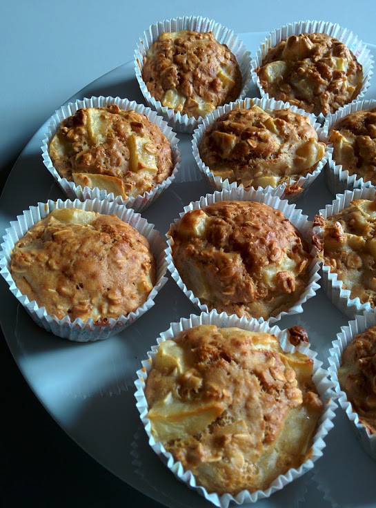 Petits cakes/muffins aux fibres