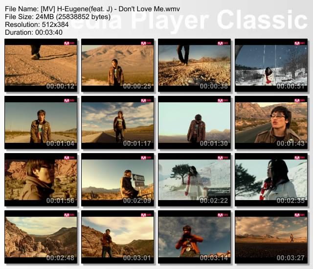 [MV/HTTP] H-Eugene(feat.J) - Don't Love Me Dlm10