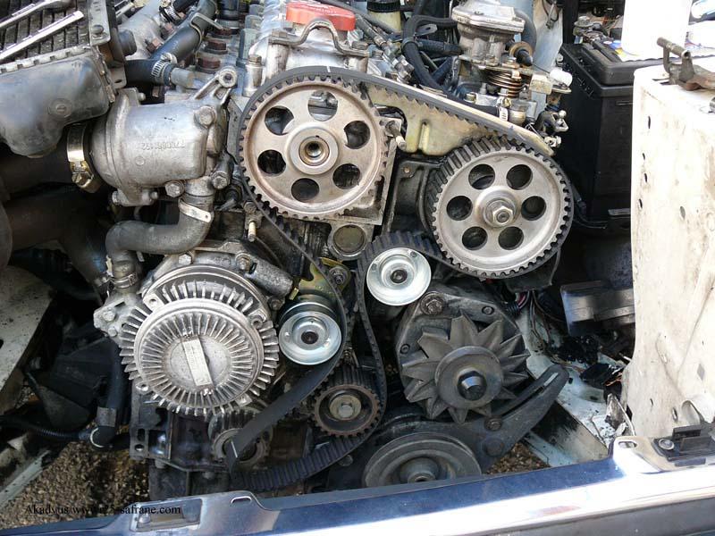 distribution sur turbo diesel...galet enrouleur ?? FINI !! P1000221