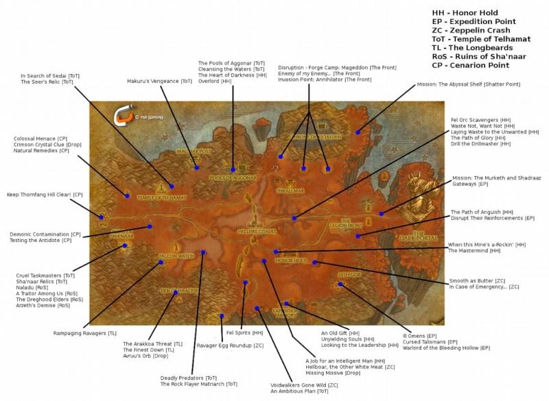 premiers pas dans BURNING CROISADE Carte_10