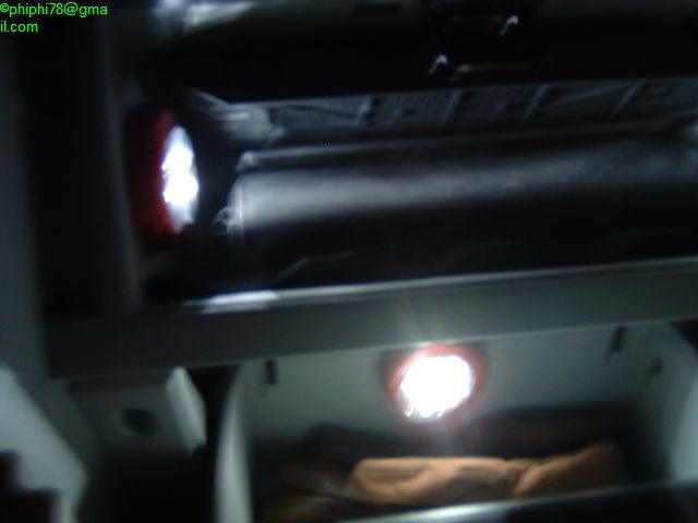 éclairage boite à gant Calibl29