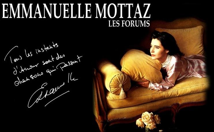 Emmanuelle Mottaz le forum pour les fans