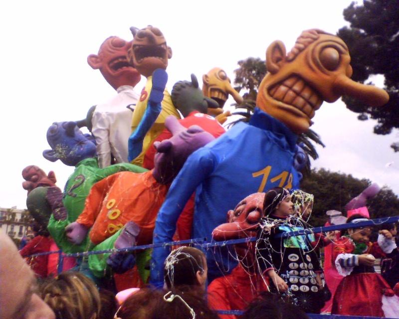 Le Carnaval de Nice 25-02-36
