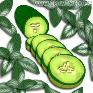 فوائد الخضروات و الفواكه التجميلية Cucumb10