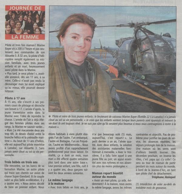 [Aéronavale divers] Femmes aux commandes Pilote10