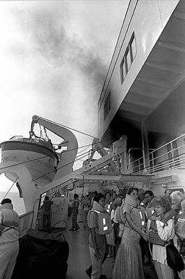 Ordre d'évacuation d'un navire actuellement Prev310