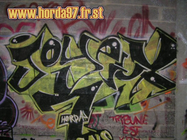 Graffiti et tags ultras 1110