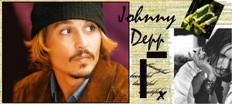 Johnny Depp.FANS