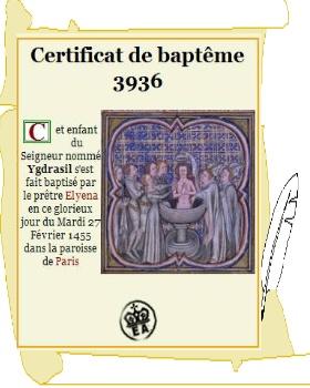 Baptême d'Ygdrasil Baptem11