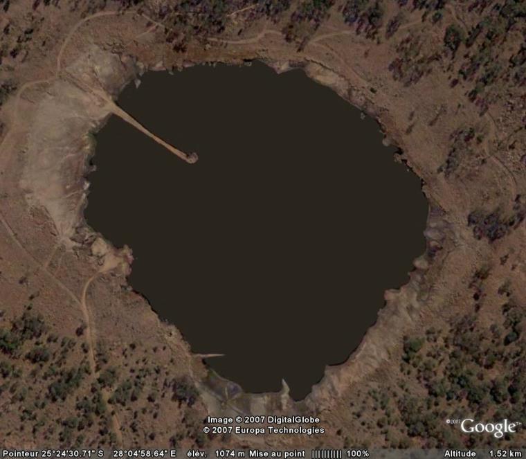 Cratère de météorite Tswaing, Prétoria, Afrique du Sud Crater10