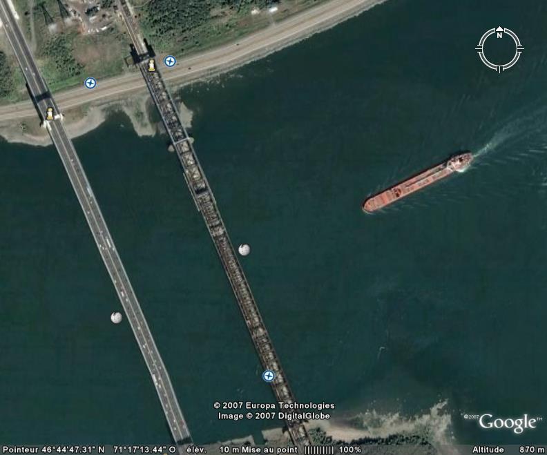Ponts parallèles à Québec, Québec, Canada Pont_d12