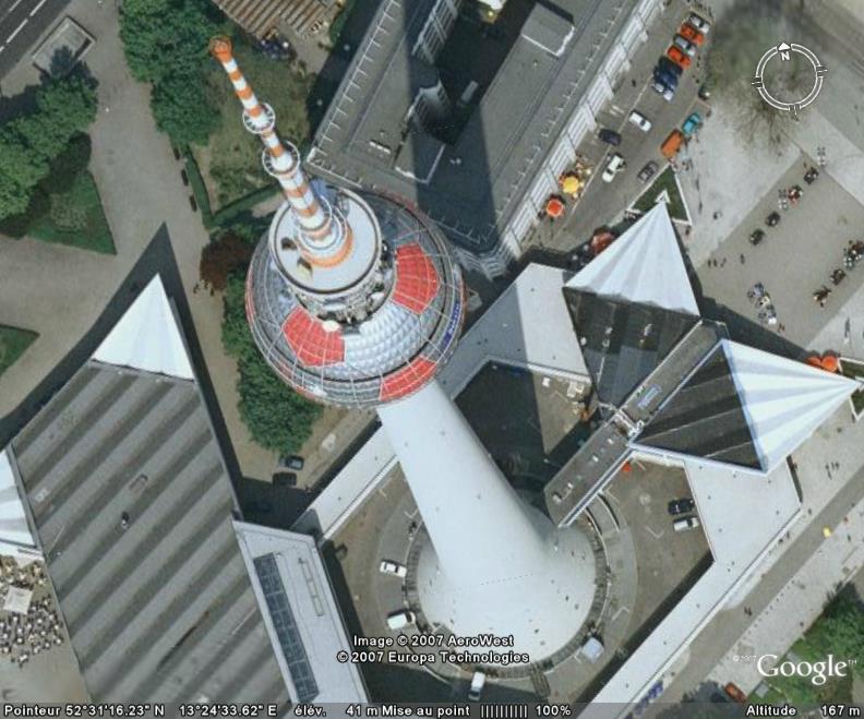 La Fernsehturm, Berlin, Allemagne Tour_d10