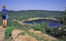 Cratère de météorite Tswaing, Prétoria, Afrique du Sud Tswain10