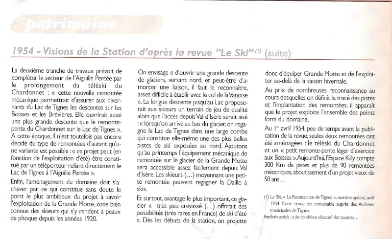 [Tignes] Recherche infos sur histoire remontées - Page 3 1954_s10