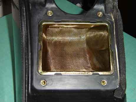 joint entre support grille du filtre avec la boite a air Dsc00010
