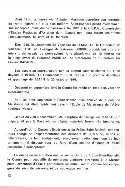 CRÉATION DE L'AÉRONAVALE St_rap16