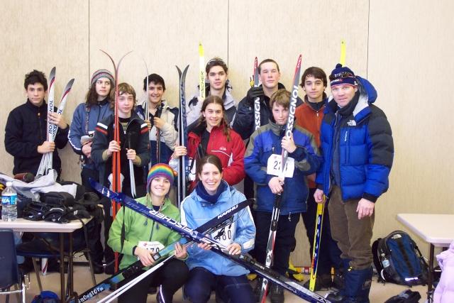 Ski de fond - 6e Championnat régional - 15 février 2007 Ski_de34