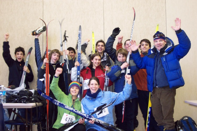 Ski de fond - 6e Championnat régional - 15 février 2007 Ski_de35