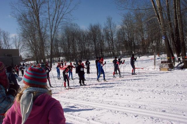 Ski de fond - 6e Championnat régional - 15 février 2007 Ski_de36