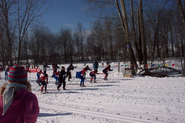 Ski de fond - 6e Championnat régional - 15 février 2007 Ski_de37