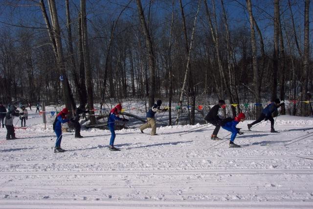 Ski de fond - 6e Championnat régional - 15 février 2007 Ski_de38