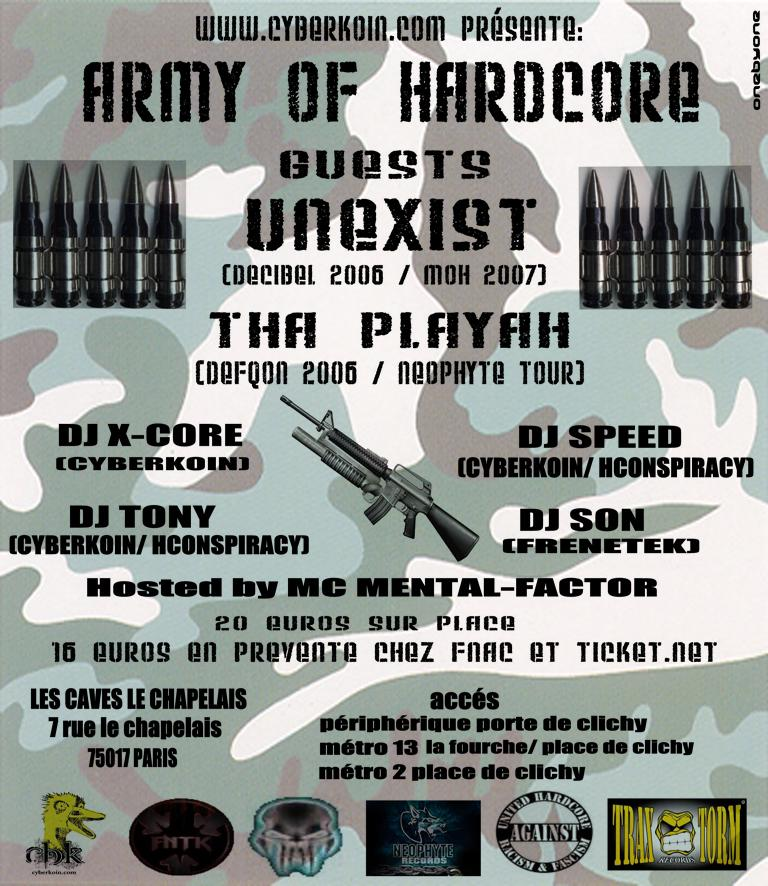 ARMY OF HARDCORE 02/03/2007 by Cyberkoin Army_o11
