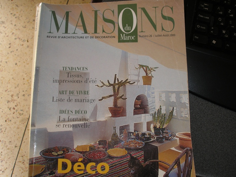 magazine maison du maroc. Black Bedroom Furniture Sets. Home Design Ideas