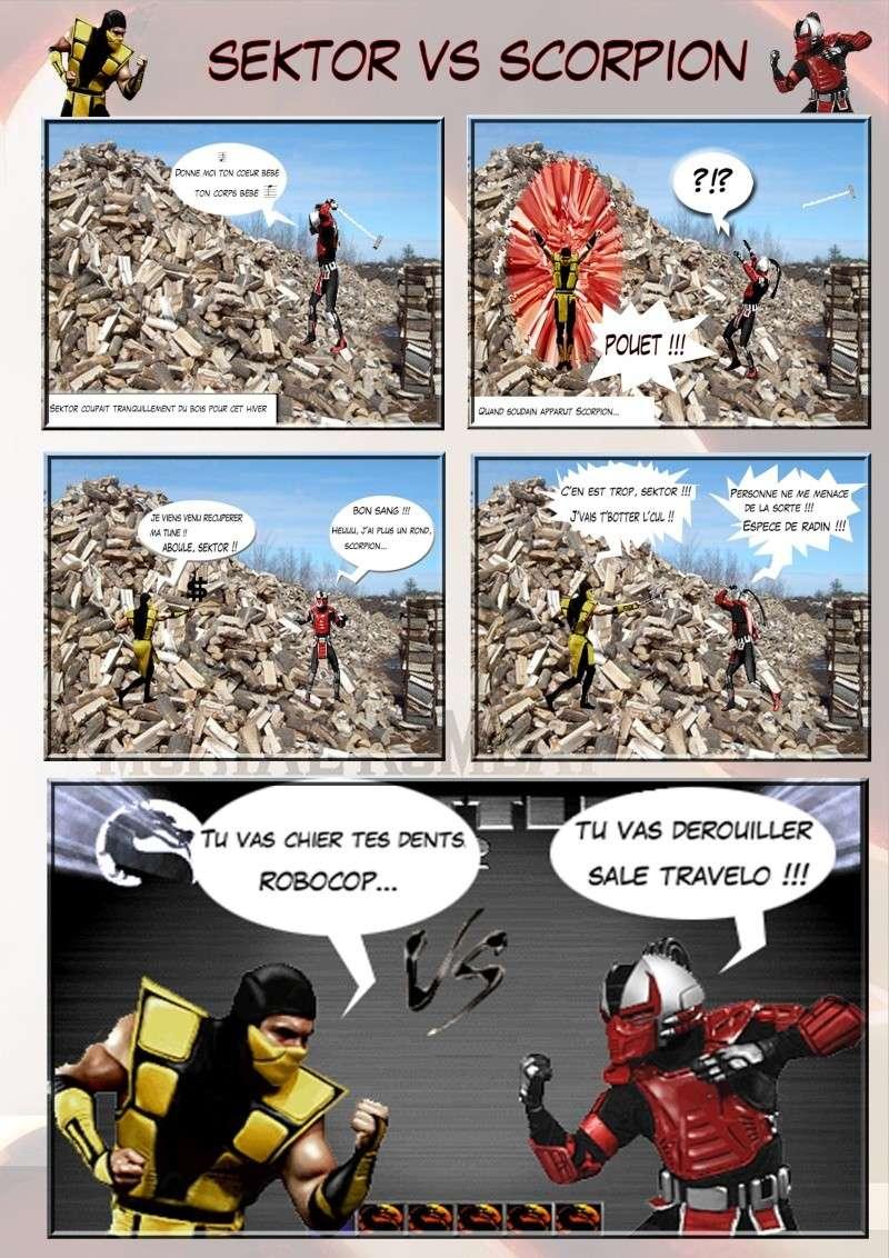 Création Planches / BD Mortal Kombat Planch12