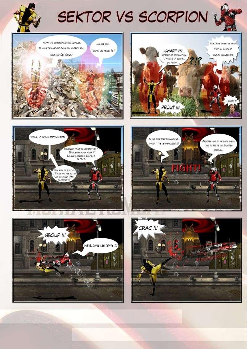 Création Planches / BD Mortal Kombat Planch13