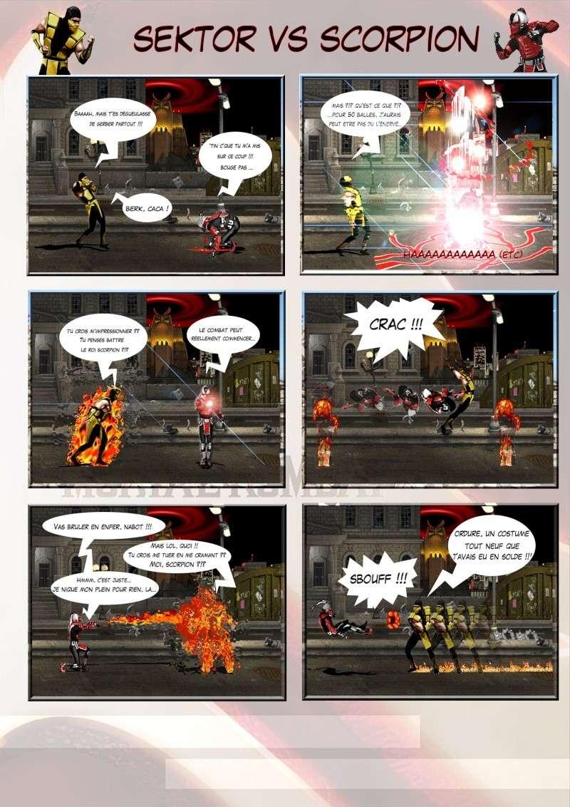 Création Planches / BD Mortal Kombat Planch14