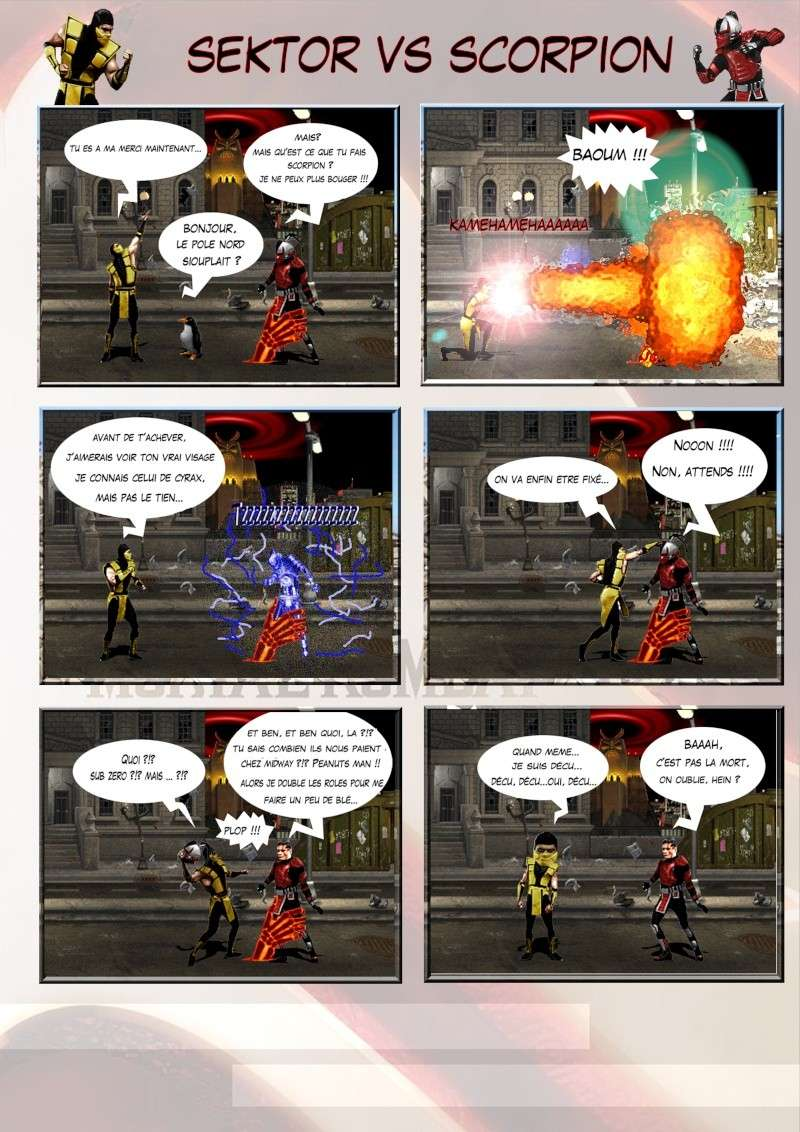 Création Planches / BD Mortal Kombat Planch15