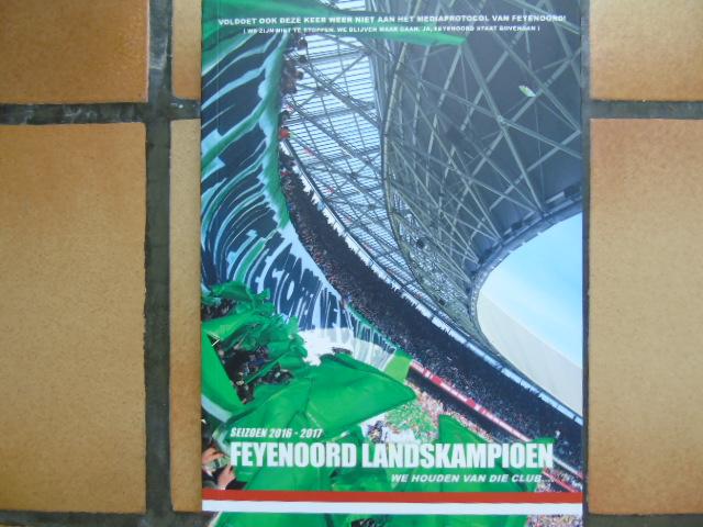 [DIVERS] - FEYENOORD - 2016-2017: FEYENOORD LANDSKAMPIOEN
