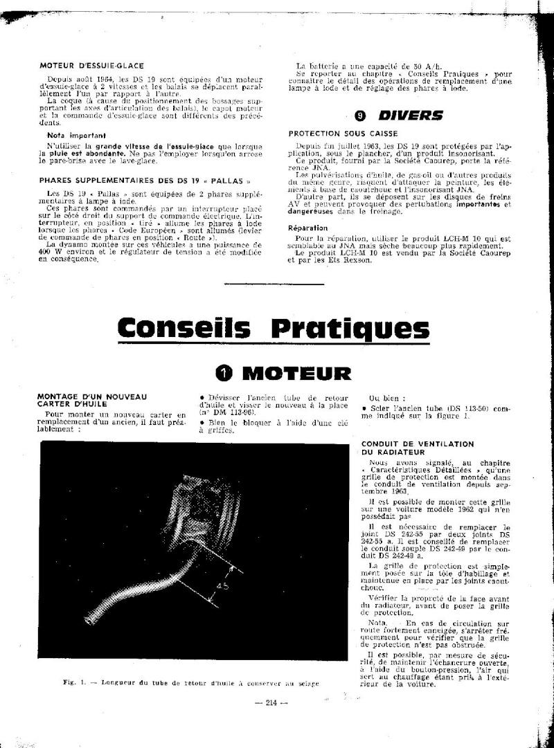 EVOLUTION DES MODELES DE 1964 A 1965 Ds_19229