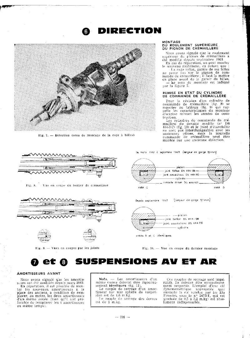 EVOLUTION DES MODELES DE 1964 A 1965 Ds_19231