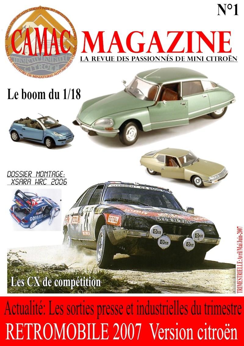 camac magazine Couver11
