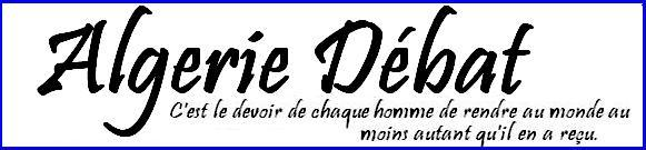 Forum ALGERIE DEBAT