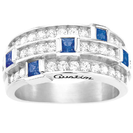 WHITE GOLD RINGS Mother10
