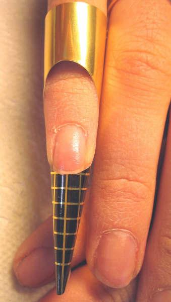 Pose d 39 ongle int grale au chablon - Fausse couche sans s en rendre compte ...