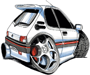 Le topic des 205 tuning - Page 2 Peu20510