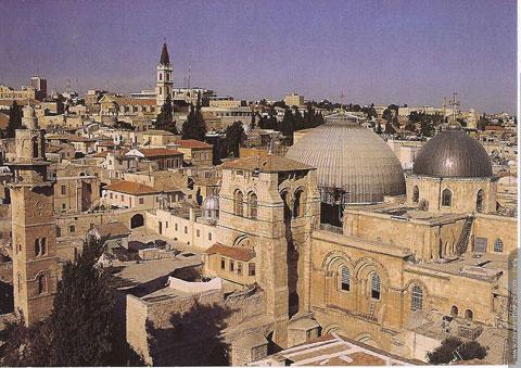 Le Saint-Sépulcre à Jerusalem, Israël 04050710