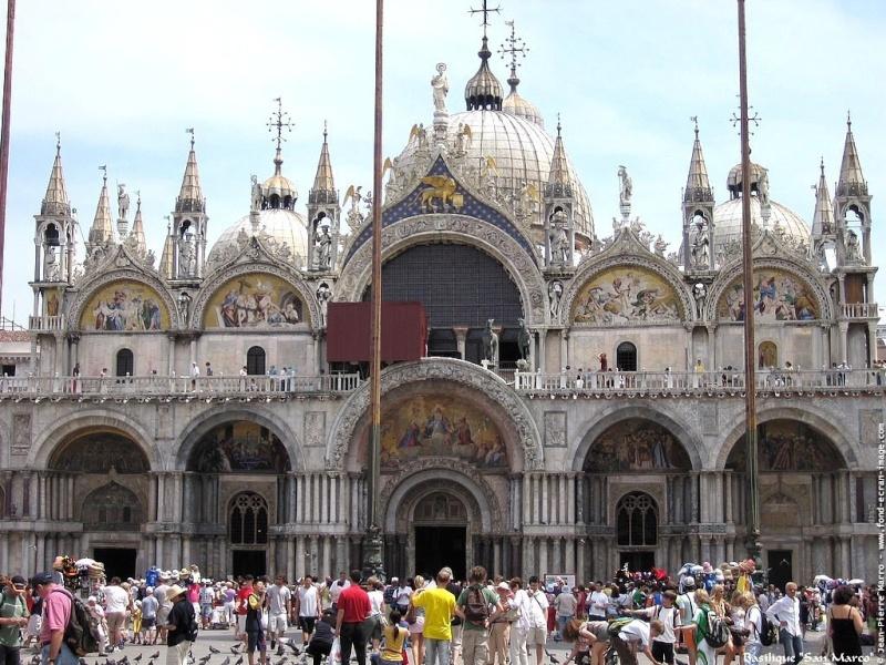 Place et Basilique Saint-Marc, Venise -Italie Basili10