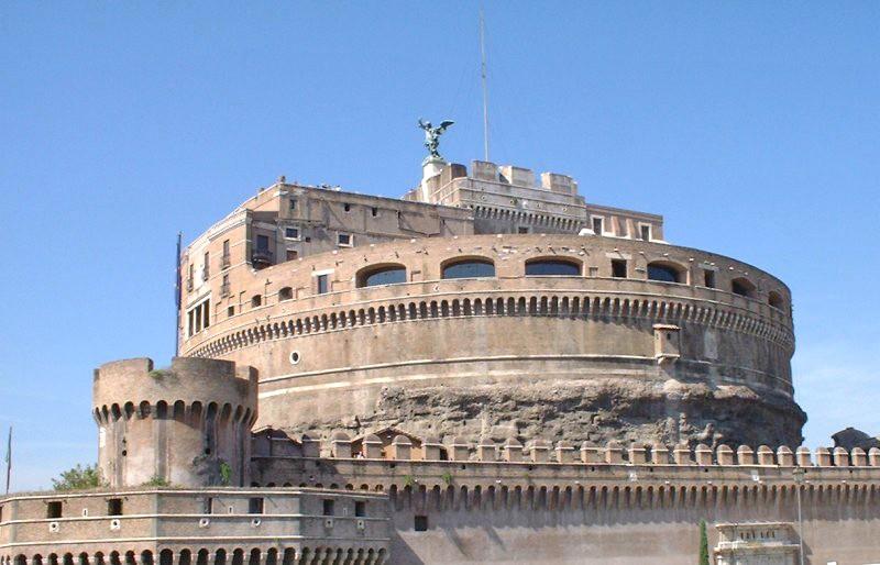 le Castel Sant'Angelo à Rome (Italie) Castel10