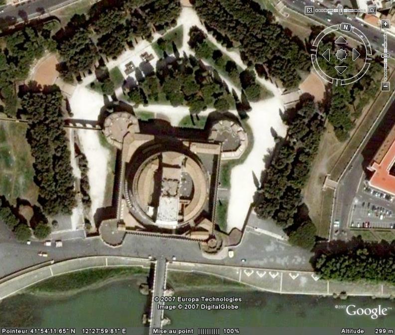 le Castel Sant'Angelo à Rome (Italie) Ge_cas10