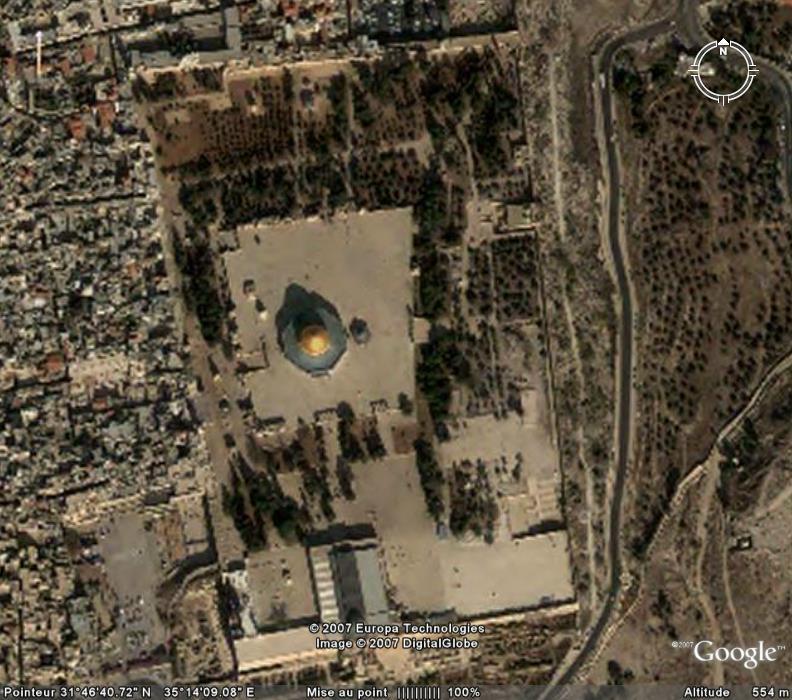 Dôme du Rocher à Jerusalem, Israël Ge_dom10