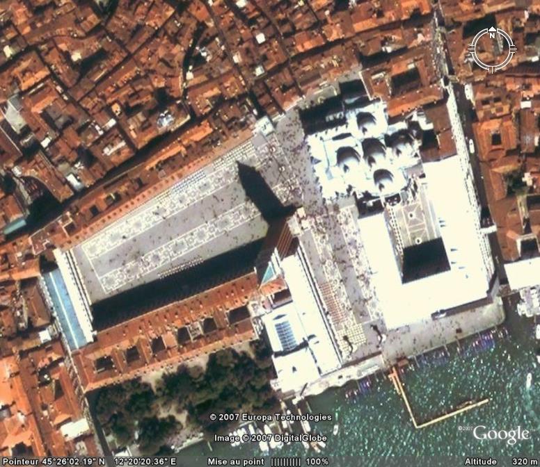 Place et Basilique Saint-Marc, Venise -Italie Pl__ba10