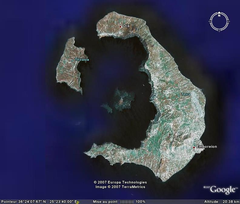 Ile de Santorin, Grèce Santor10