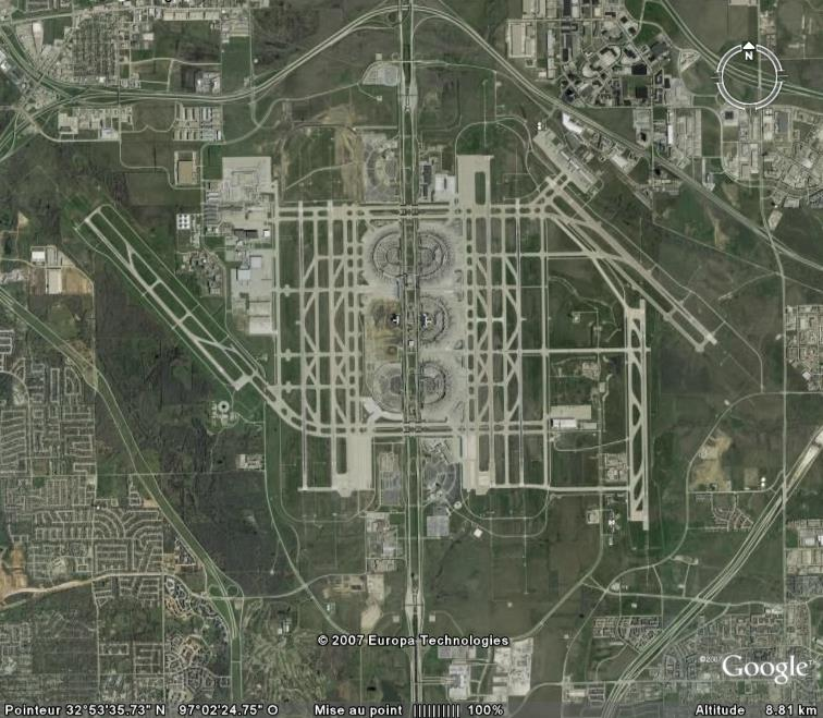 Aéroport de Dallas, Texas, USA Aeropo10